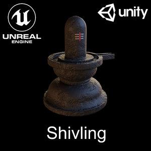 3D shivling shiv