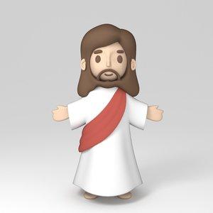 jesus crhist 3D model