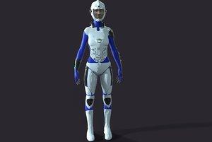 3D fiction soldier