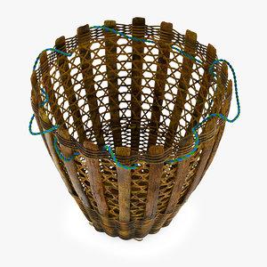 3D doko sherpa basket model
