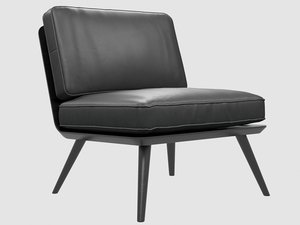 spine lounge suite chair model