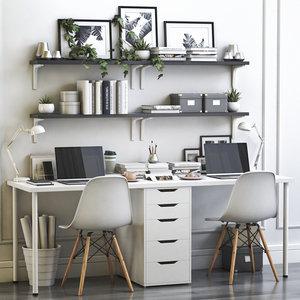 office alex linnmon 3D
