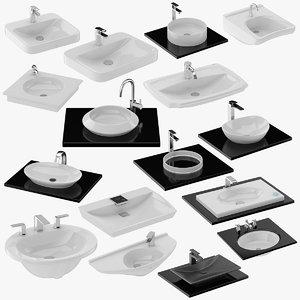 16 lavatory 3D model