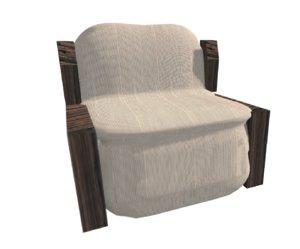 dae chair 3D model