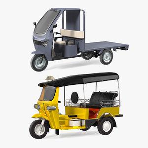 wheeler rickshaws model