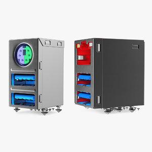 3D usb connectors