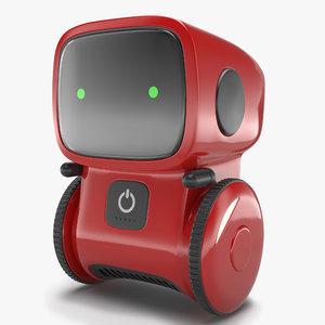 3D model pbr sci-fi robot