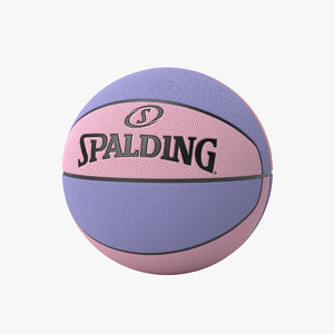 3D spalding basketball