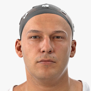 marcus human head neutral 3D model