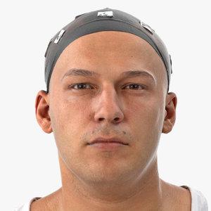 marcus human head neutral 3D model