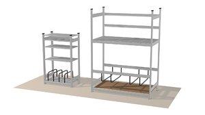 shelving shelf model
