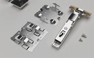3D furniture hinge