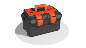 bag container industrial 3D model