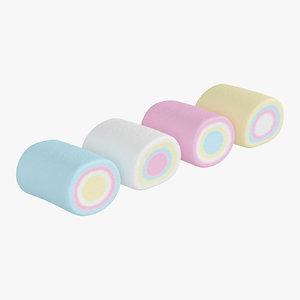 3D marshmallows 01