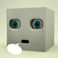 Face Rigged cube