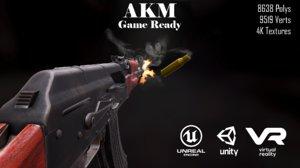akm 7 62mm ak-47 model