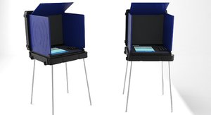 3D model voting machine