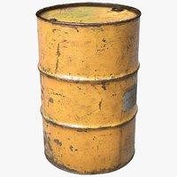 Scanned Barrel Yellow