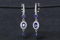women earrings with stones