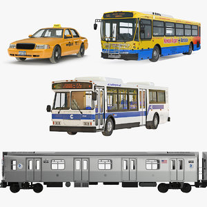 public vehicles nhc 3D