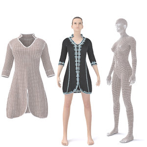 3D character arabian cloth