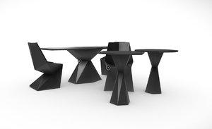 3D vertex set