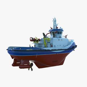 tug icebreaker 3D model