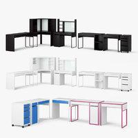 Ikea Micke Table Set