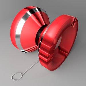 yo-yo 3 3D model