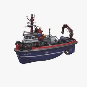 tugboat boat model