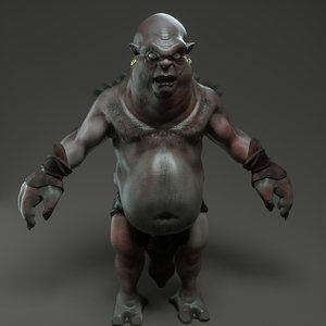 troll cave 3D model