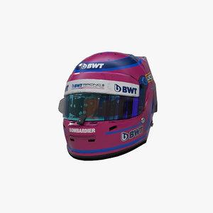 stroll 2020 helmet 3D model