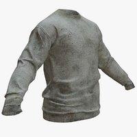 T-Shirt Long Sleeve - Game Asset