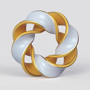shape sculpture 3D model