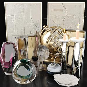 3D set decor luxury