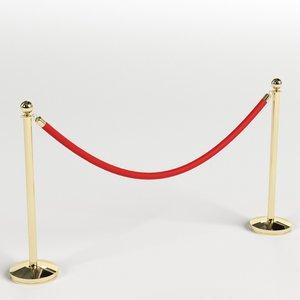 red velvet rope model