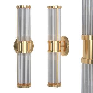 3D wall lamp claridges double model