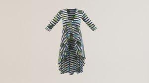 woman summer cloth model