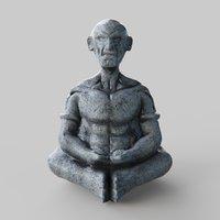 Oldman Statue