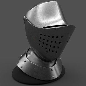 3D helmet metallic