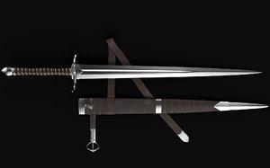 3D sword sheath