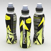 Beverage Bottle Powerade Lemon 500ml 2020