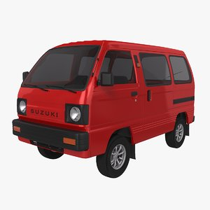 3D suzuki carry 1987