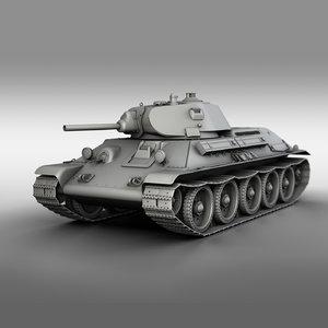t-34-76 - 1940 soviet model
