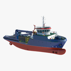 3D icebreaker ship vessel