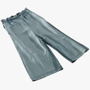 3D model realistic women s pants