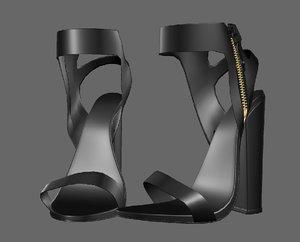 shoeshighheelboot 3D