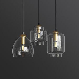 3D milo pendant ceiling light