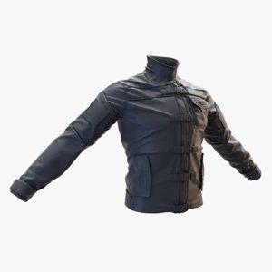 tactical jacket 3D