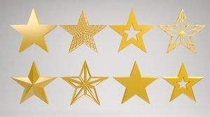 3D star shape